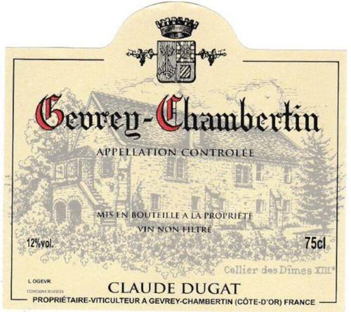Dugat/Claude Gevrey-Chambertin 2018