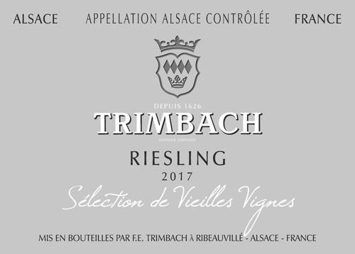 Trimbach Riesling Alsace Sélection de Vieilles Vignes 2017