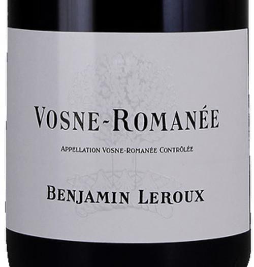 Leroux/Benjamin Vosne-Romanée 2018