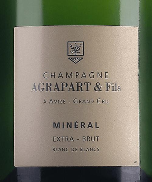"""Agrapart Extra Brut Blanc de Blancs Champagne """"Minéral"""" 2014"""