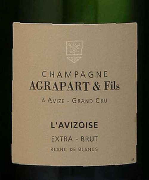 "Agrapart Extra Brut Blanc de Blancs Champagne ""L'Avizoise"" 2014"
