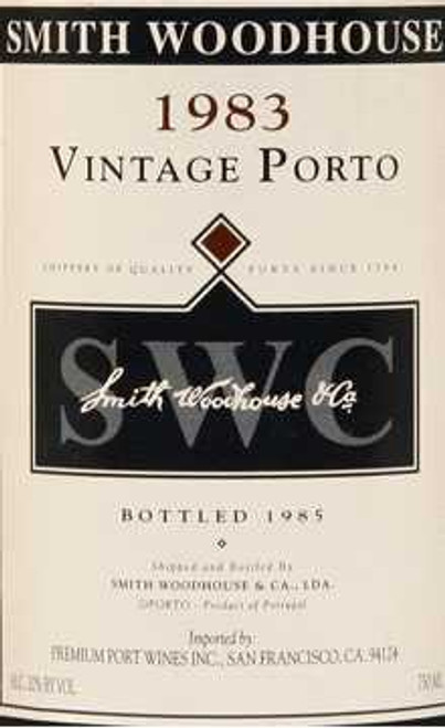 Smith Woodhouse Vintage Port 1983