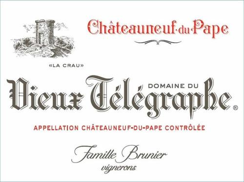 """Vieux Télégraphe Châteauneuf-du-Pape """"La Crau"""" 2019"""