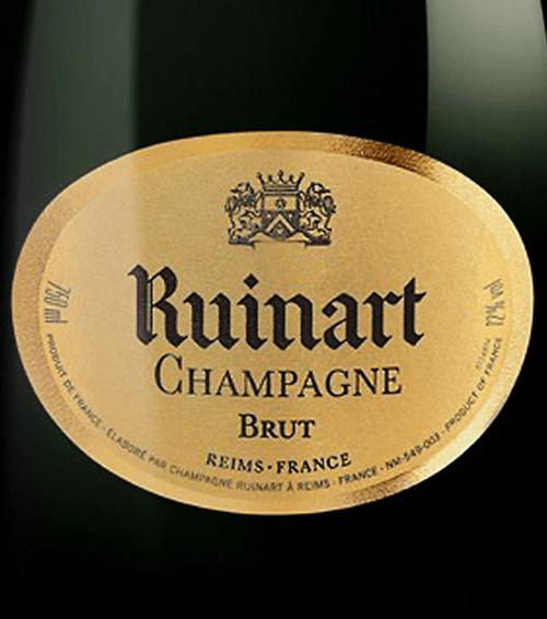 """Ruinart Brut Champagne """"R"""" de Ruinart NV"""