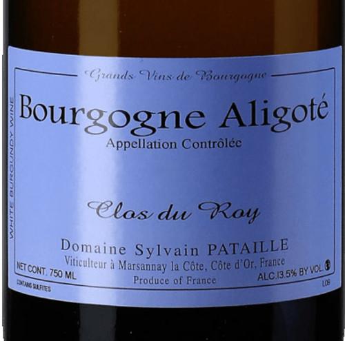 Pataille/Sylvain Bourgogne-Aligoté Clos du Roy 2019
