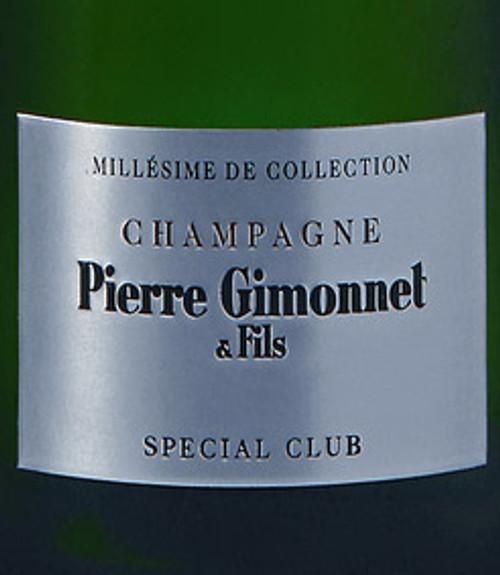 Gimonnet Brut BdB Champagne Spécial Club Collection 2008 1.5L