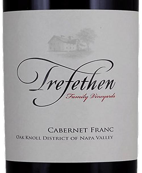 Trefethen Cabernet Franc Napa Valley Oak Knoll District 2018