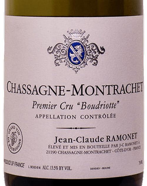 Ramonet Chassagne-Montrachet 1er cru Boudriotte 2018