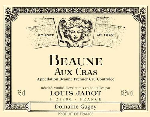 Jadot Beaune 1er cru Les Cras 2019