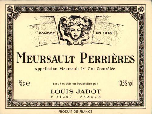 Jadot Meursault 1er cru Perrières 2019
