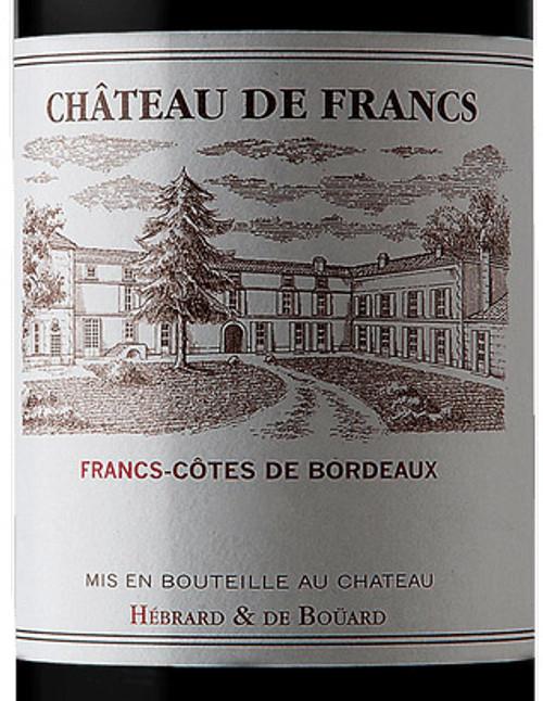 De Francs Francs-Côtes de Bordeaux 2018
