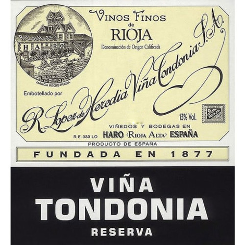 López de Heredia Rioja Viña Tondonia Reserva 2005 1.5L
