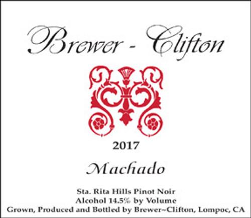 Brewer-Clifton Pinot Noir Sta. Rita Hills Machado Vineyard 2017