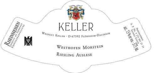 Keller Riesling Auslese Westhofener Morstein Goldkap 2015