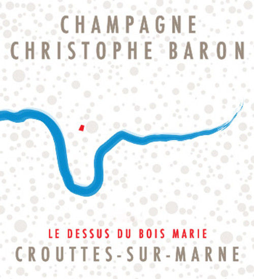 Baron/Christophe Brut Nature Champagne Le Dessus du Bois Marie 2015 1.5L