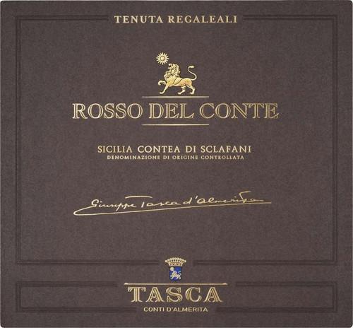 Tasca d'Almerita/Regaleali Rosso del Conte Contea di Sclafani 2014