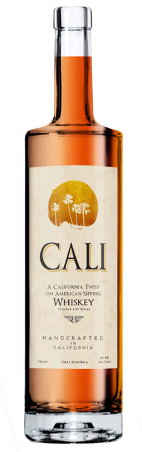 CALI Distillery California Whiskey with spices