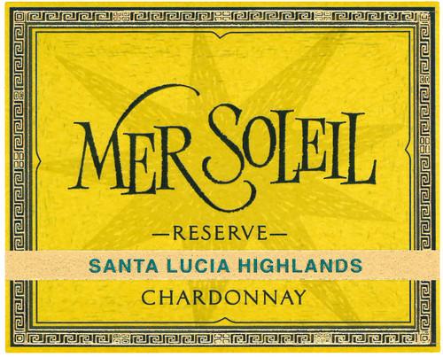 Mer Soleil Chardonnay Santa Lucia Highlands Reserve 2018