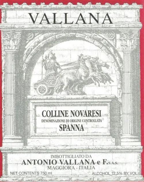 Vallana Spanna Colline Novaresi 2017