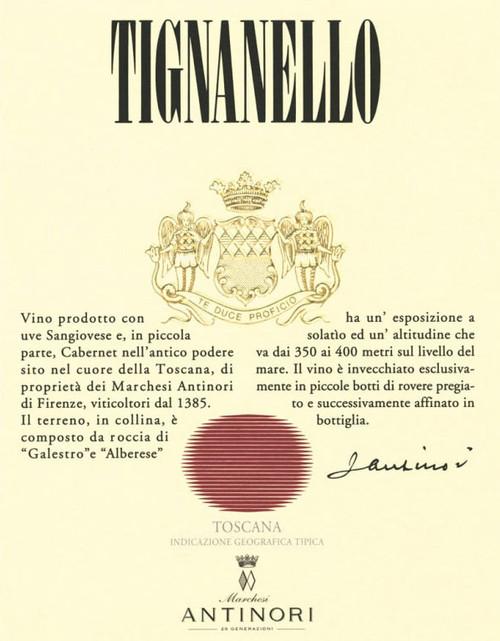 Antinori Tignanello 2018