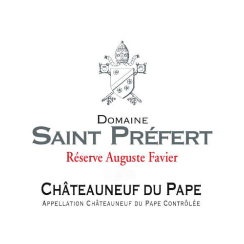 St. Préfert Châteauneuf-du-Pape Auguste Favier Réserve 2019