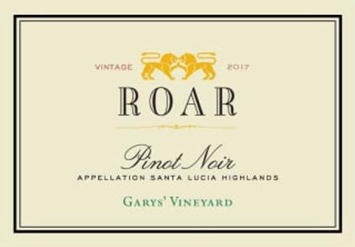 Roar Pinot Noir Santa Lucia Highlands Garys' Vineyard 2019