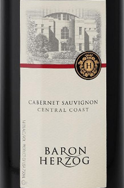 Baron Herzog Cabernet Sauvignon California 2018