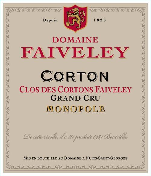Faiveley Corton-Clos des Cortons 2016 3L