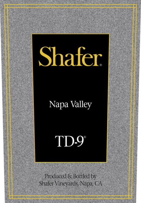 Shafer TD-9 Napa Valley 2018