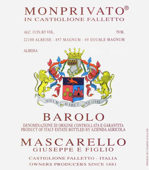 Mascarello/Giuseppe Barolo Monprivato 2016