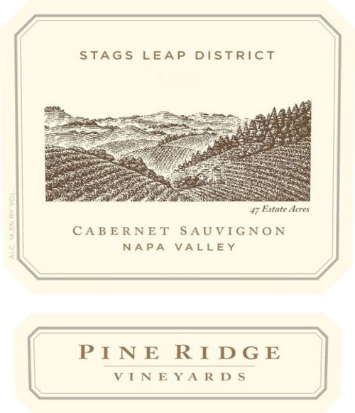 Pine Ridge Cabernet Sauvignon Stags Leap District 2016