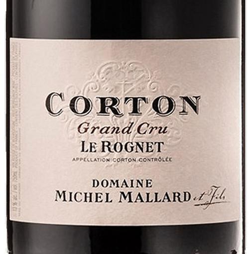 Mallard/Michel Corton Le Rognet 2016