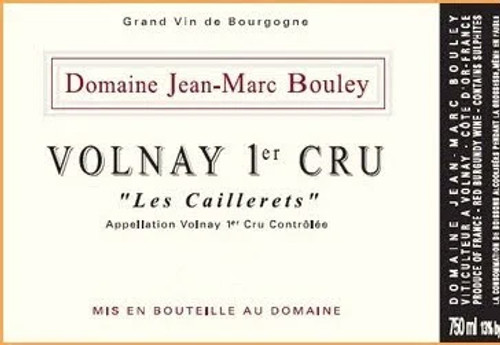 Bouley/Jean-Marc Volnay 1er cru Caillerets 2014