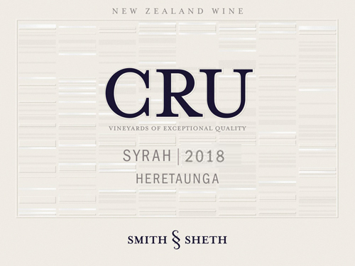 "Smith & Sheth Syrah Hawkes Bay Heretaunga ""Cru"" 2018"