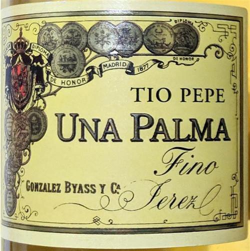 Tio Pepe (Gonzalez Byass) Una Palma Fino Sherry NV 500ml
