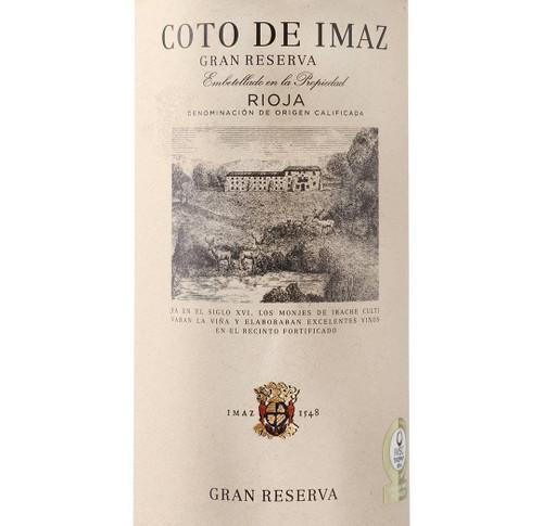 El Coto Rioja Gran Reserva 'Coto de Imaz' 2012