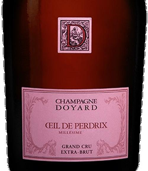 Doyard Brut Rosé Champagne Grand Cru Oeil de Perdrix 2015