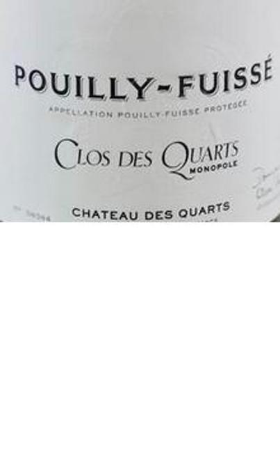 Château des Quarts Pouilly-Fuissé Clos des Quarts 2016