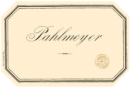 Pahlmeyer Chardonnay Napa Valley 2019