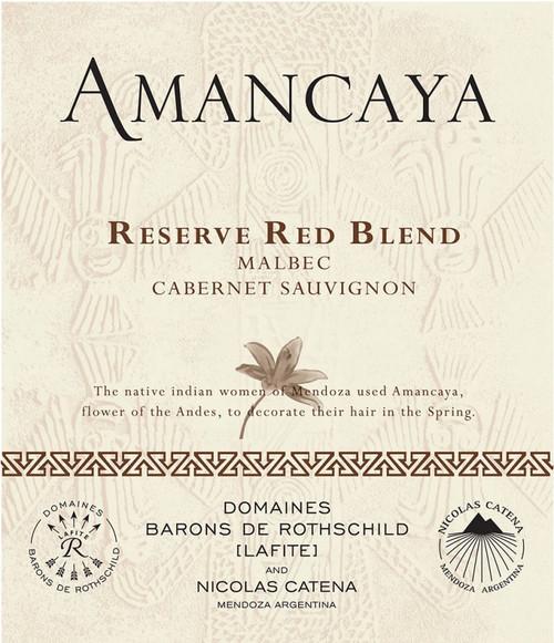 Caro Amancaya Malbec-Cabernet Sauvignon Reserva Mendoza 2018