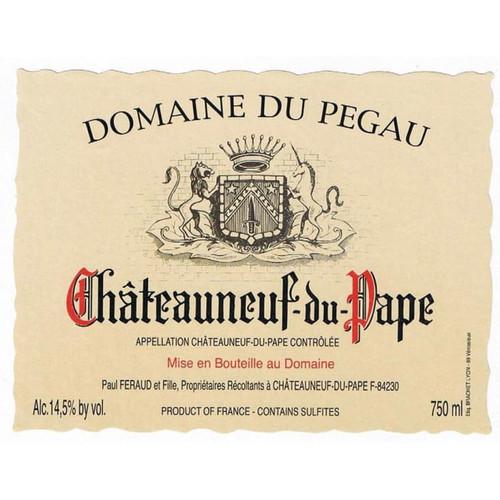 Pégaü Châteauneuf-du-Pape Cuvée Laurence 2012