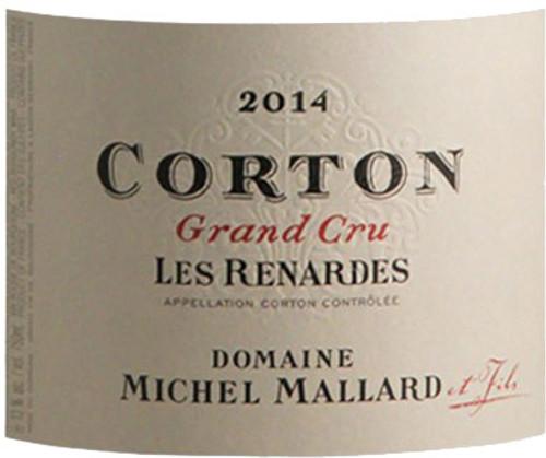 Mallard/Michel Corton Renardes 2014