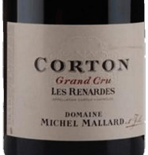 Mallard/Michel Corton Renardes 2017