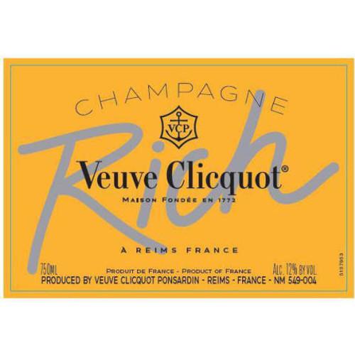 Veuve Clicquot Rich Champagne NV