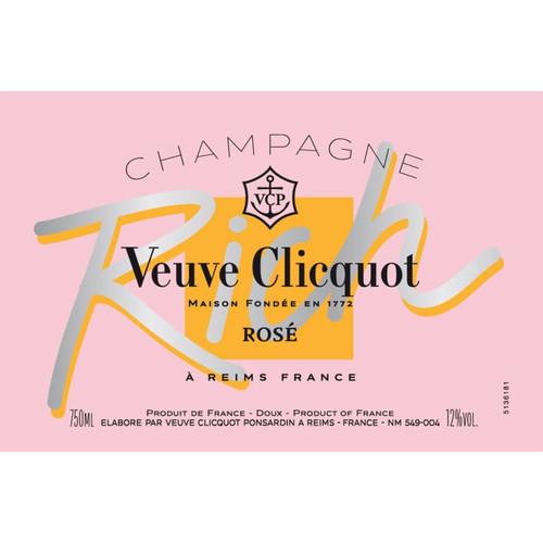 Veuve Clicquot Rich Rosé Champagne NV