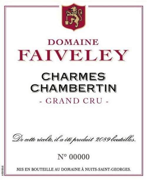 Faiveley Charmes-Chambertin Grand Cru 2019