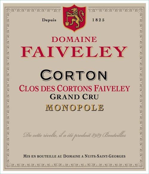 Faiveley Corton-Clos des Cortons Grand Cru 2019