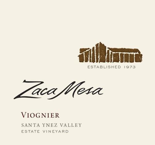 Zaca Mesa Viognier Santa Ynez Valley 2018