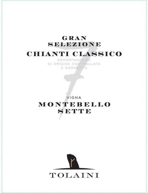 Tolaini Chianti Classico Vigna Montebello Sette Gran Selezione 2016