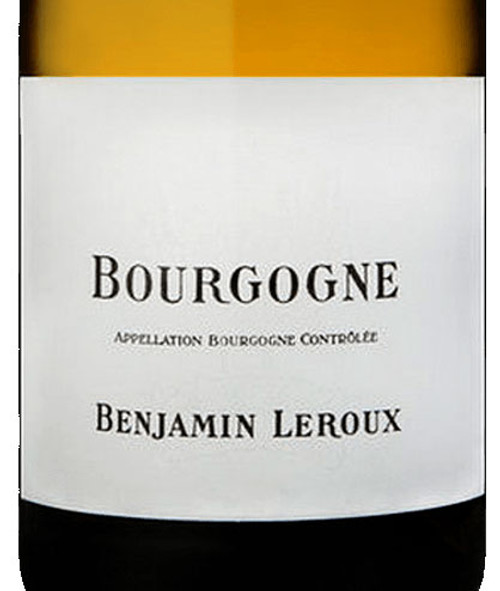 Leroux/Benjamin Bourgogne Blanc 2019